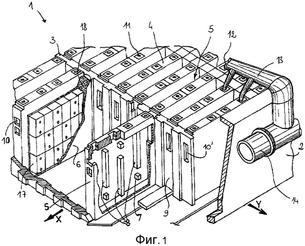 Способ и система контроля работы установки для сушки углеродистых блоков