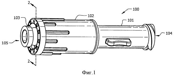 Закрытое охватываемое устройство люэровского типа для сведения к минимуму утечек жидкости во время соединения и отсоединения