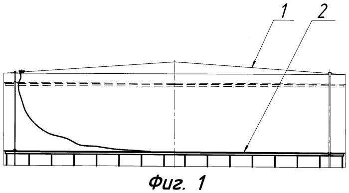 Полноконтактный понтон для резервуаров с легкоиспаряющимися нефтепродуктами