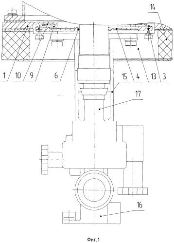 Устройство для фиксации визирного оптического прибора