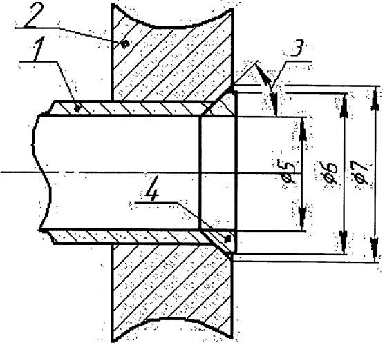 Способ соединения узла труба-трубная решетка сваркой трением