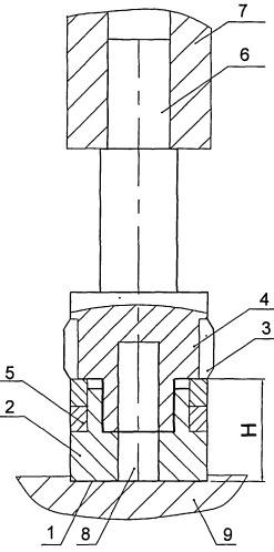 Способ обработки отверстий в металлоконструкциях