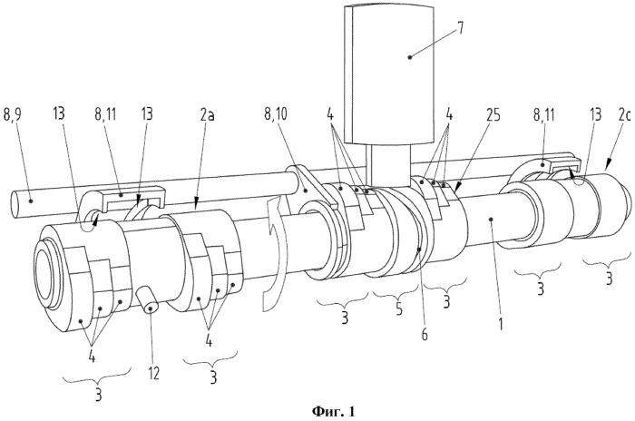 Двигатель внутреннего сгорания и привод клапанов для двигателя внутреннего сгорания