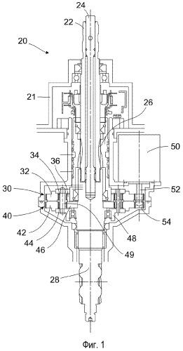 Рулевой клапан с планетарной передачей
