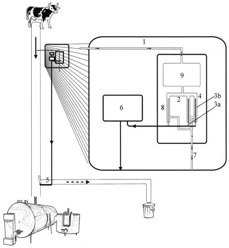 Система реального времени, способ калибровки системы и одновременное обнаружение остатков антибиотиков и их концентраций в молоке