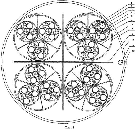 Симметричный неэкранированный 48-парный кабель 6 категории с улучшенными характеристиками