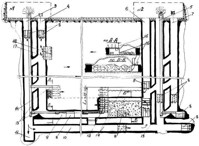 Способ комбинированной открыто-подземной разработки угольных пластов