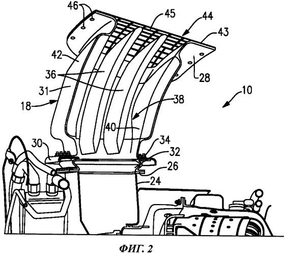 Способ технического обслуживания вспомогательной силовой установки (всу), узел всу и воздухозаборник всу