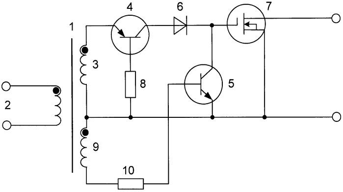 Силовой ключ на мдп-транзисторе