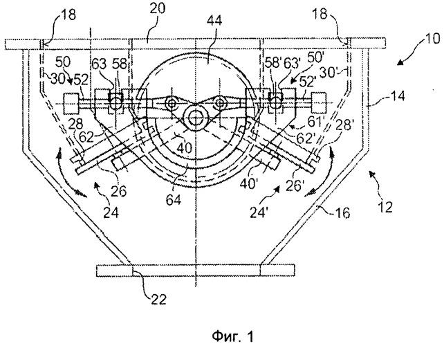 Узел нижнего уплотнительного клапана для системы загрузки через колошник доменной печи