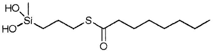 Связующее на основе блокированного меркаптосилана