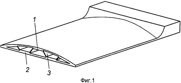 Заготовка для изготовления полой лопатки турбомашины способом сверхпластической формовки