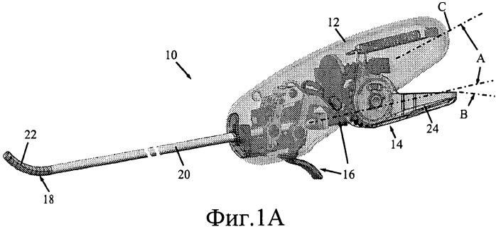 Эргономичный циркулярный хирургический степлер