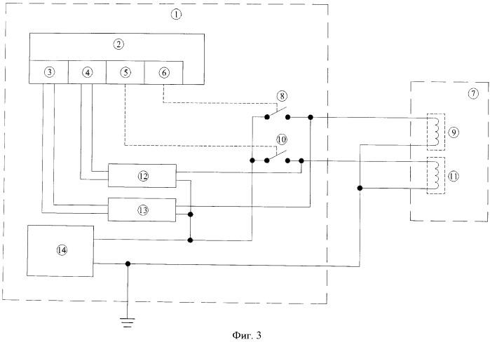 Способ постоянного контроля целостности цепей управления кранами трубопроводов и схема для его осуществления