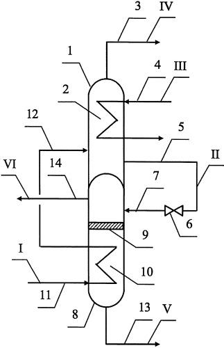 Устройство для охлаждения и сепарации компрессата