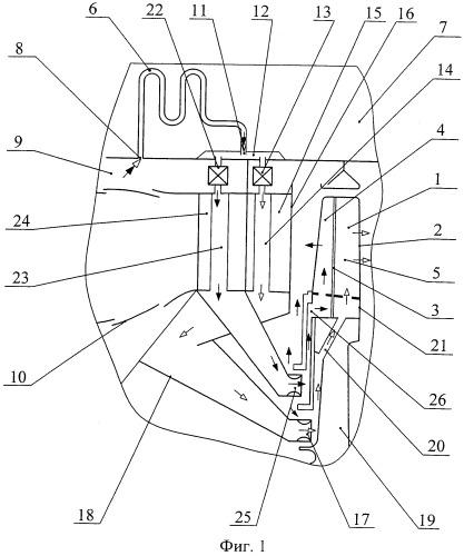 Способ охлаждения рабочих лопаток турбины двухконтурного газотурбинного двигателя и устройство для его осуществления