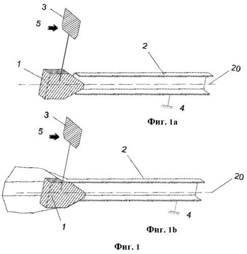 Механизм для поглощения кинетической энергии, возникающей в результате фронтального удара транспортного средства о систему удерживания транспортного средства, для использования по краям и по центру автомобильных дорог, такую как гаситель удара и оконечные устройства