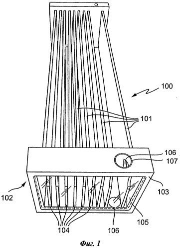 Фильтровальное устройство для обработки воды и других жидких сред