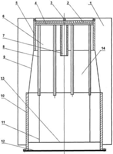 Бытовое устройство приготовления легкой воды