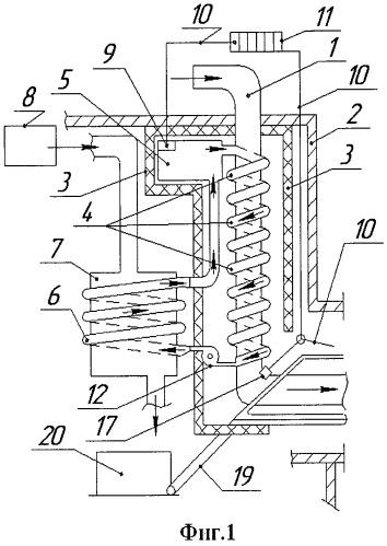 Нагреватель трубопровода
