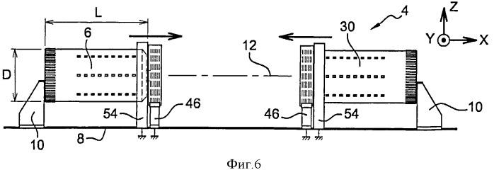 Способ и установка для изготовления секции фюзеляжа летательного аппарата