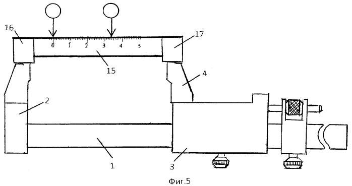 Устройство для измерения линейных размеров