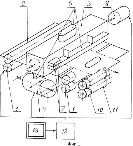 Станок для изготовления прорезей в картонных заготовках