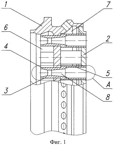 Форсуночная головка камеры сгорания жрд