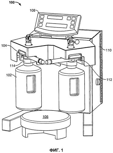 Безнасосное устройство подачи тонера
