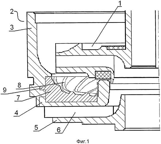 Направляющий аппарат ступени центробежного многоступенчатого насоса