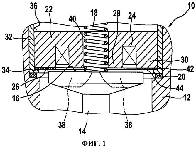 Регулировочный диск для выставления остаточного воздушного зазора