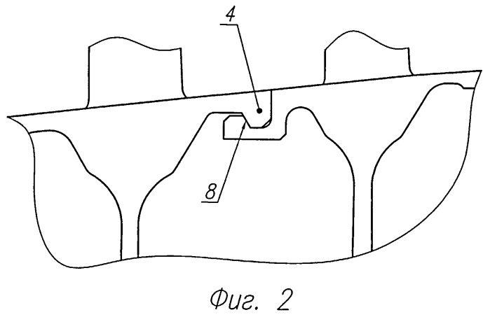 Ротор газотурбинного двигателя