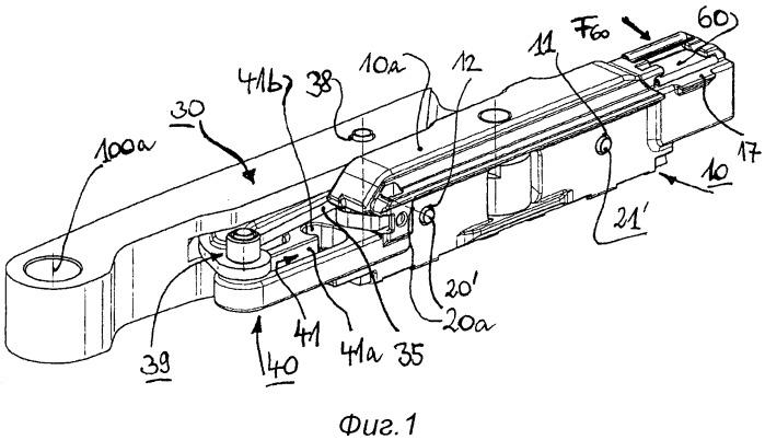 Компактная передвижная каретка для тяжелой створки, смещаемой в продольном направлении