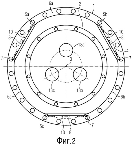 Переходной элемент герметизированного корпуса