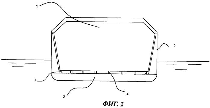 Резервуар с наклонными стенками