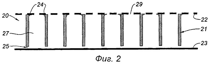 Звукопоглощающая панель для эжекторного сопла