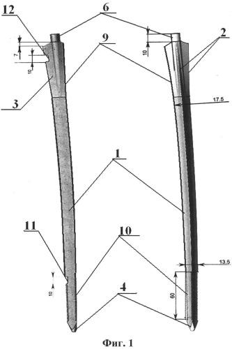 Интрамедуллярное блокирующее устройство для остеосинтеза