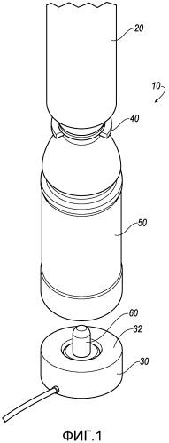 Система и способ для создания давления в пластиковой емкости