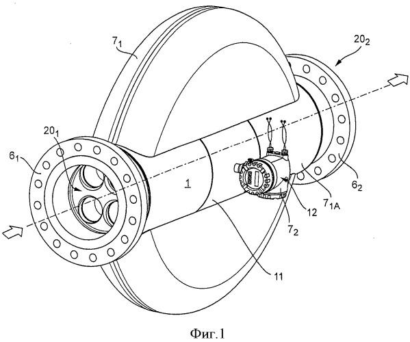 Измерительный датчик вибрационного типа, способ изготовления измерительного датчика и измерительная система, применение измерительного датчика