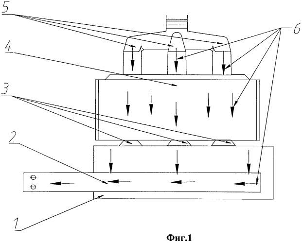 Способ обжига подины алюминиевого электролизера с обожженными анодами