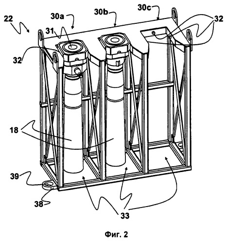 Устройство для перемещения и хранения трубы ковша для установки разливки жидкого металла