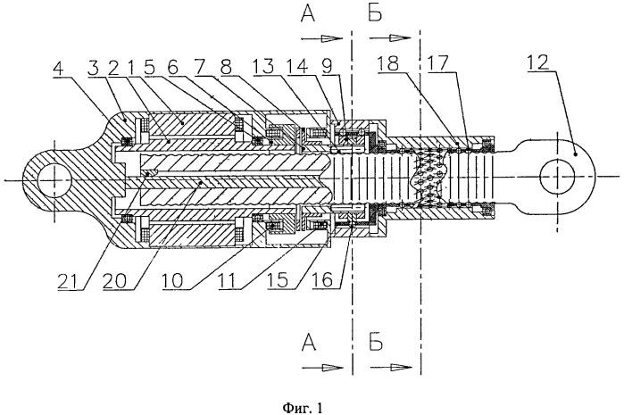 Электромеханический мини-привод поступательного действия