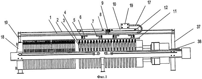 Устройство вибрационной группы для фильтровальных пластин фильтр-пресса