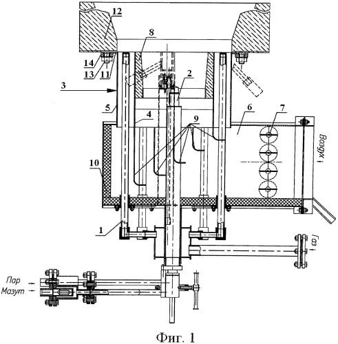 Горелка для сжигания газообразного и жидкого топлива