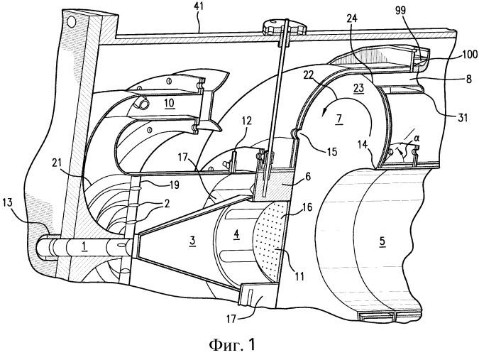 Способ поэтапного изменения подачи топлива в устройстве с камерой сгорания