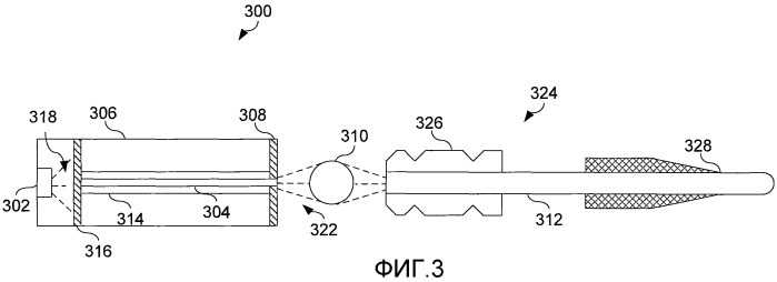 Офтальмологическая эндоиллюминация с использованием света, генерируемого волокном