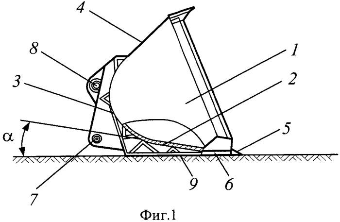 Способ черпания материалов и грунтов ковшом фронтального погрузчика