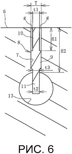 Форма для вулканизации шины и способ ее изготовления