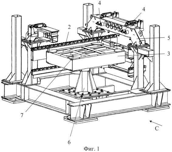 Подъемно-транспортное оборудование комплекса термообработки керамических изделий и кассета для транспортировки керамических изделий