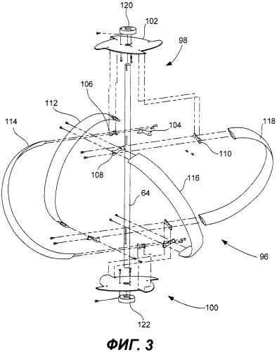 Гидроэлектрическая энергосистема и турбина в трубе